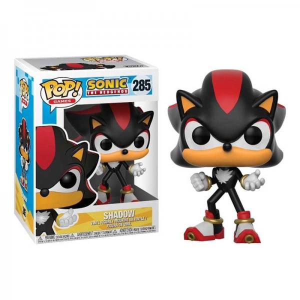 Figura Funko Pop Sonic The Hedgehog Shadow