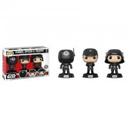 Figuras Funko Pop Star Wars Gunner, Officer y Trooper - Exclusivas