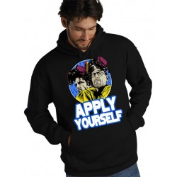 Sudadera Breaking Bad Apply Yourself - Marcaestilo