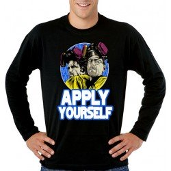 "Camiseta ""Breaking Bad"" Apply Yourself"