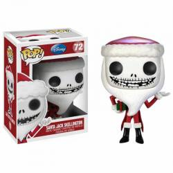 Figura Funko Pop Santa Jack Skellington - Disney