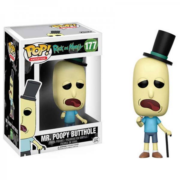 Figura Funko Pop Rick And Morty Mr. Poopy Butthole