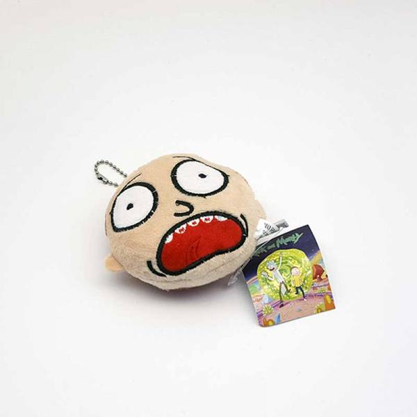 Llavero Peluche Morty Rick and Morty
