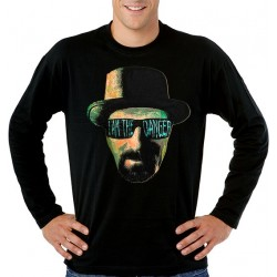 Camiseta Breaking Bad i am the danger de manga larga - Heisenberg