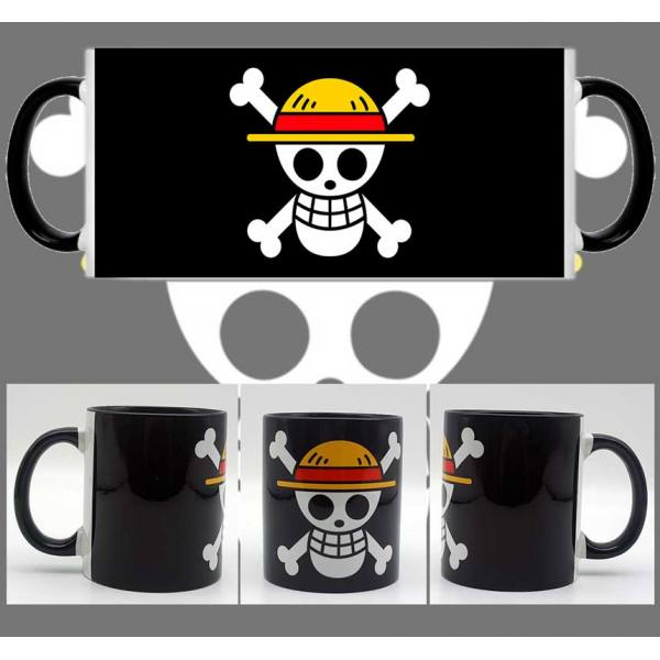 Taza One Piece Bandera Luffy