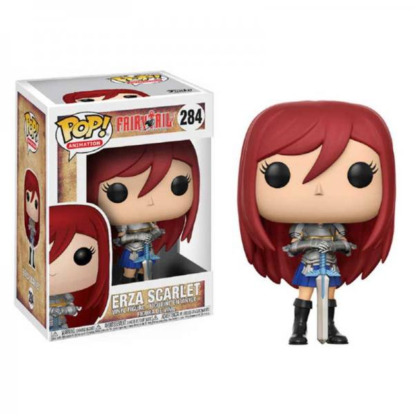 Figura Funko Pop Fairy Tail Erza Scarlet