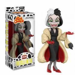 Figura Cruella de Vil 101 Dalmatas - Rock Candy Funko