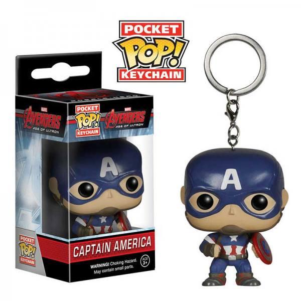 Llavero Pocket Pop Capitan America Avengers Age of Ultron