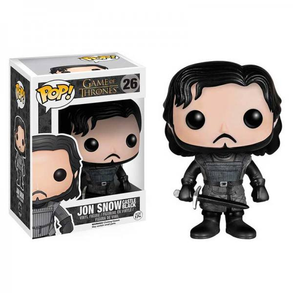 Figura Funko Pop Jon Nieve Castle Black Game of Thrones