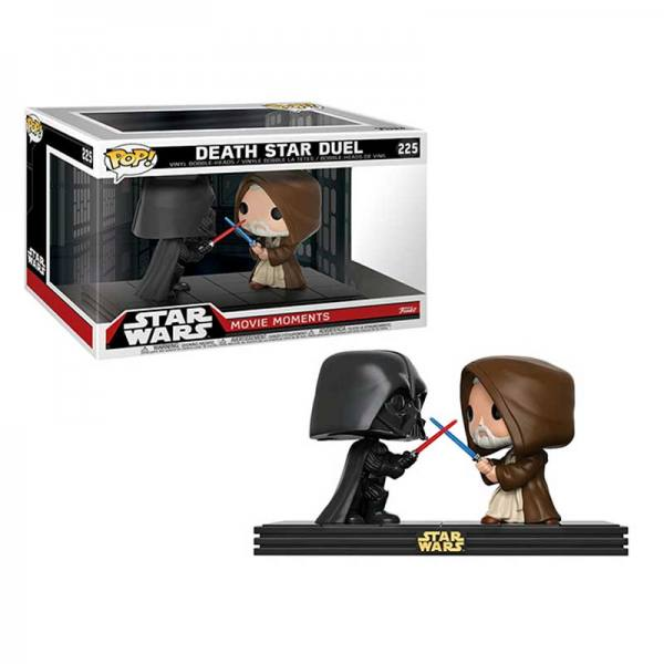 Figuras Funko Pop Star Wars Movie Moments Death Star Duel - Exclusiva
