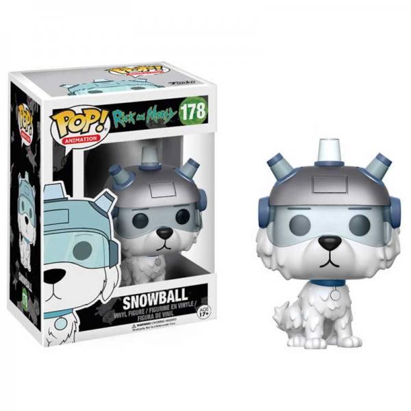 Figura Funko Pop Rick And Morty Snowball