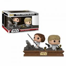 Movie Moments Funko Pop Star Wars Trash Compactor Escape - Exclusiva