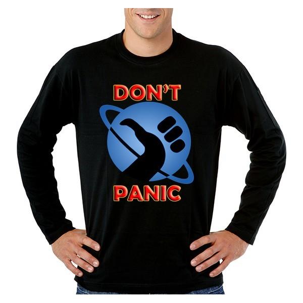 Camiseta Guia del autoestopista Galactico - Dont Panic