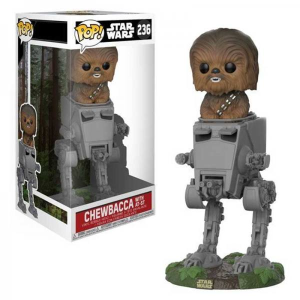 Figura Funko Pop Chewacca with At-St Star Wars