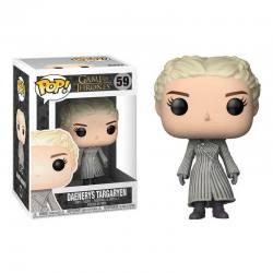 Funko Pop Daenerys Targaryen abrigo blanco - Juego de Tronos