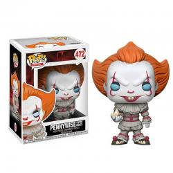 Funko Pop Pennywise ojos azules con barco - It 2017