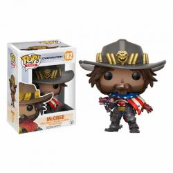 Figura Funko Pop McCree Overwatch - Exclusiva