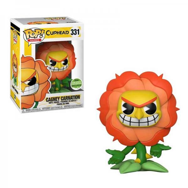 Figura Funko Pop Cuphead Cagney Carnation ECCC 2018