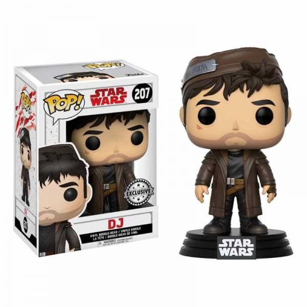 Star Wars Episodio VIII Figura Funko Pop Dj - Exclusiva