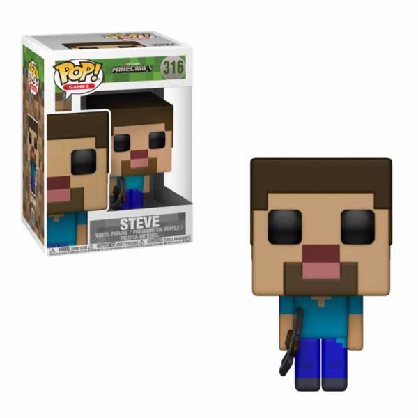 Figura Funko Pop Steve Minecraft