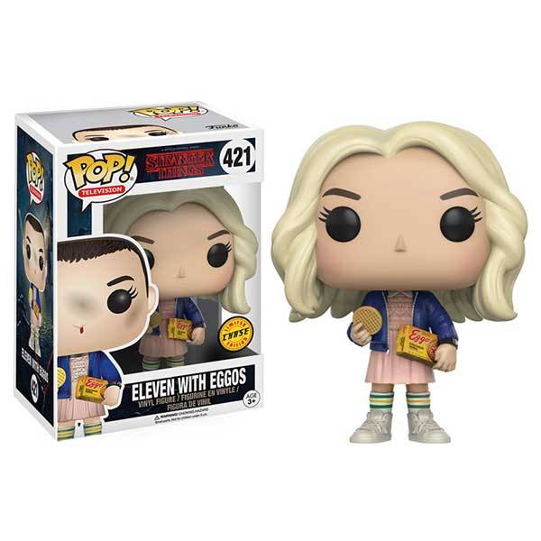 Eleven With Eggos Stranger Things - Funko Pop Chase
