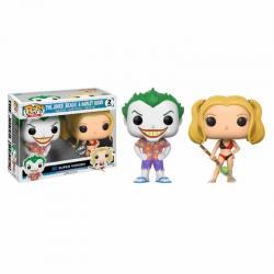 Pack Figuras Funko Pop Joker Beach y Harley Quinn - Exclusivo