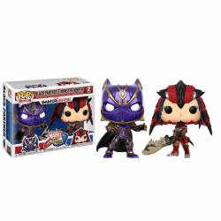 Pack Figuras Funko Pop Black Panther Vs Monster Hunter