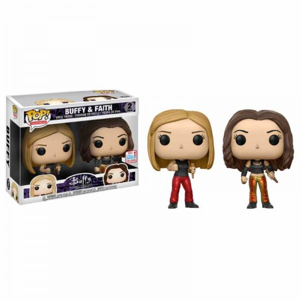 Pack Figuras Funko Pop Buffy y Faith - Exclusivo NYCC 2017