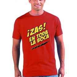 Camiseta The Big Bang Theory - Zas en toda la boca