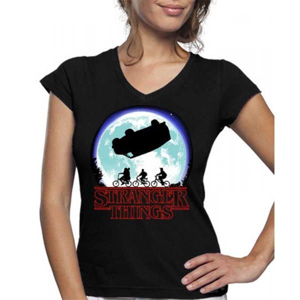 Camiseta de Mujer Stranger Things Luna