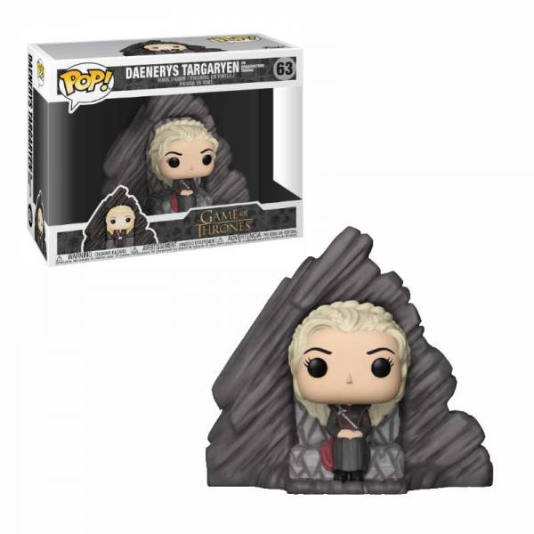 Funko Pop Juego Daenerys on Dragonstone Throne Juego de Tronos