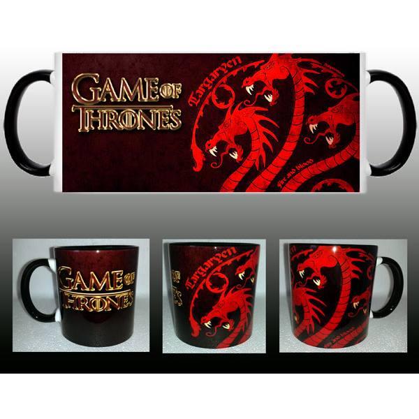 Taza Juego de Tronos Targaryen Dragón