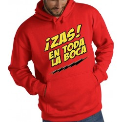 Sudadera capucha The Big Bang Theory - Zas en toda la boca