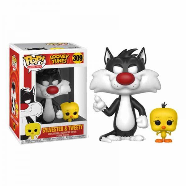 Figura Funko Pop Silvester & Tweety Looney Tunes