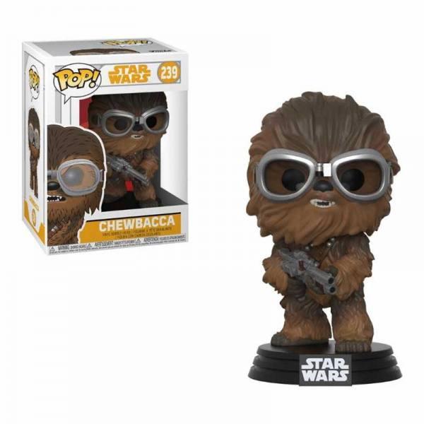 Funko Pop Chewbacca Con Gafas - Han Solo: Una Historia de Star Wars