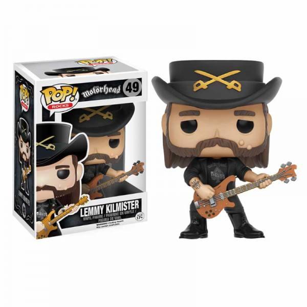 Figura Funko Pop Motorhead Lemmy Kilmister