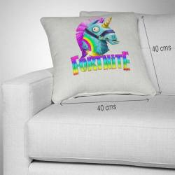 Cojín Fortnite Unicornio