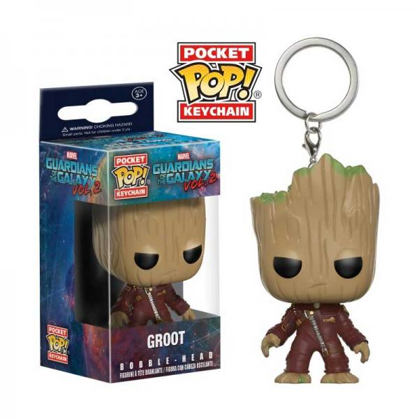 Llavero Funko Pop Groot - Guardianes de la Galaxia Volumen 2