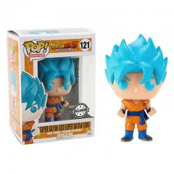Figura Pop Dragón Ball Super Saiyan Goku Azul- Exclusiva
