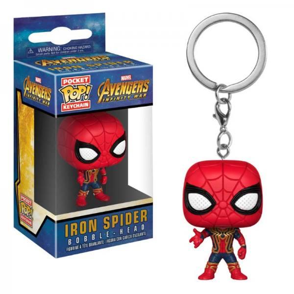 Llavero Funko Pop Iron Spider - Avengers Infinity War