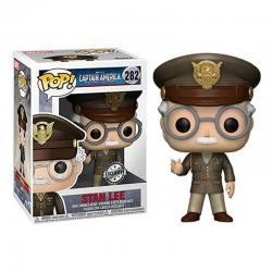 Figura Pop Stan Lee Capitán America El Primer Vengador - Exclusiva