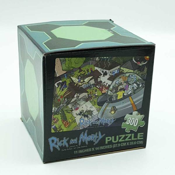 Puzzle Rick and Morty LC Exclusive - 300 Piezas