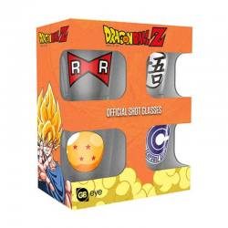 Dragón Ball Z Pack Vasos de Chupito