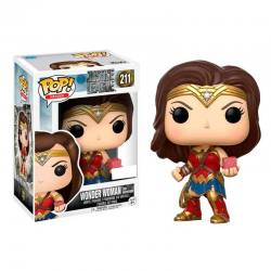 Figura Pop Wonder Woman Mother Box Justice League - Exclusiva