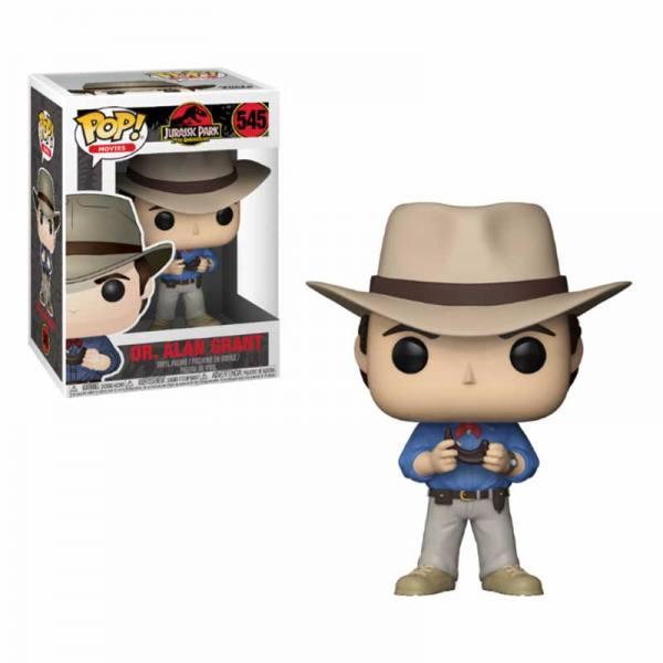Figura Pop Jurassic Park Dr Alan Grant