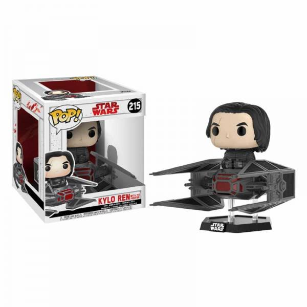 Figura Pop Kylo Ren With Tie Fighter Star Wars