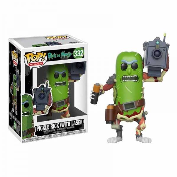 Figura Pop Pickle Rick Laser Rick and Morty