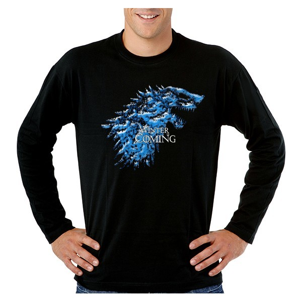 Camiseta Winter is Incoming, Juego de tronos manga larga