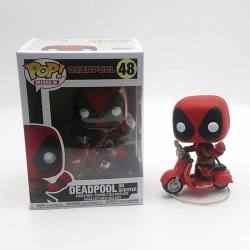 Figura Pop Rides Deadpool Scooter