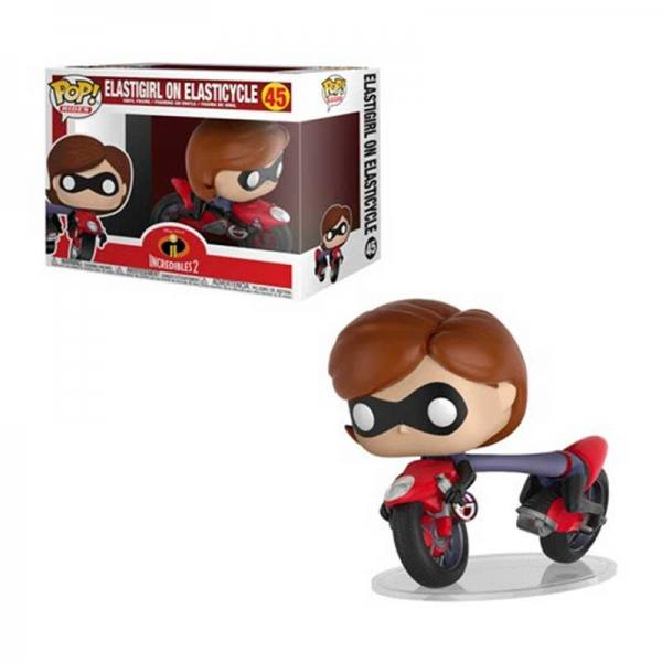 Figura Pop Los Increíbles 2 Elastigirl on Elasticycle